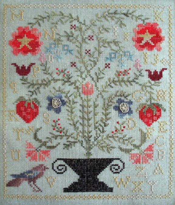 Wish list sympathetic threads for Blackbird designs strawberry garden